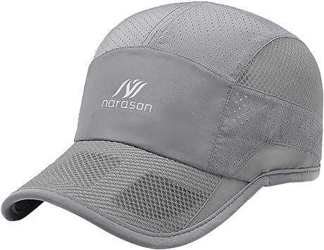 Gorra hombre verano gorra béisbol unisex gorra secado rápido gorra ...