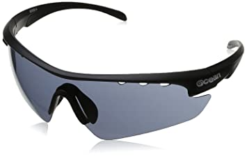 c3c213c573 ... Deportes y aire libre. Ocean Sunglasses Ironman - gafas de sol- Montura  : Negro Mate - Lentes : Ahumadas