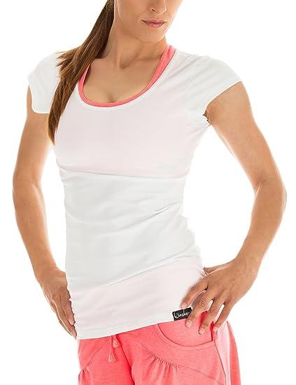 Winshape WTR4 - Camiseta de Yoga o Entrenamiento para Mujer (diseño ... 9a9b3a681577e