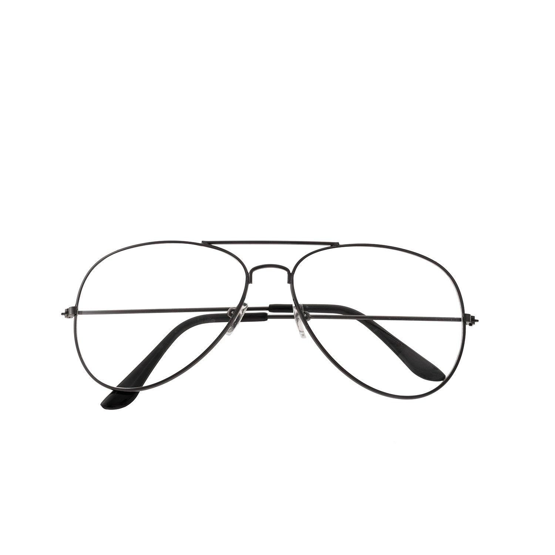 16a73709709e0c forepin Lunettes de Vue Unisex Monture Metalique Cadre Frame Lentille pour  Homme et Femme Adultes Vintage