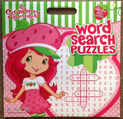 STRAWBERRY SHORTCAKE Word Search Puzzles GIANT ACTIVITY BOOK (Large 15