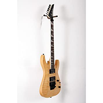 Jackson JS32Q Dinky Arch Top Quilt Maple Transparent Amber Guitarra Electrica