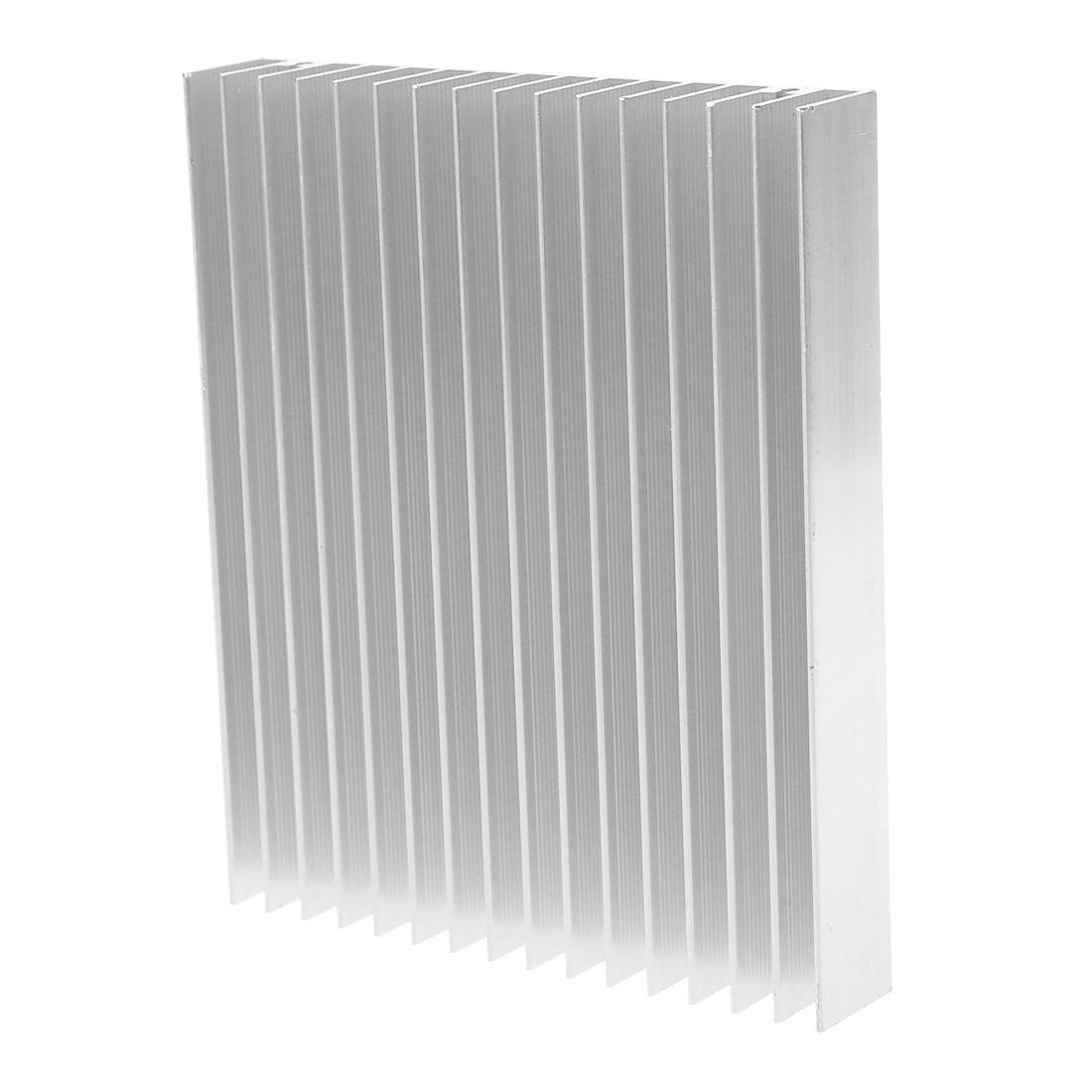 NA Aluminum Radiator Heatsink Diffuse heatsink Cooling fin 120x100x18mm