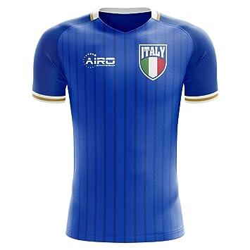 f5e0ebe62 Airo Sportswear 2018-2019 Italy Home Concept Football Soccer T-Shirt  (Kids)  Amazon.co.uk  Sports   Outdoors