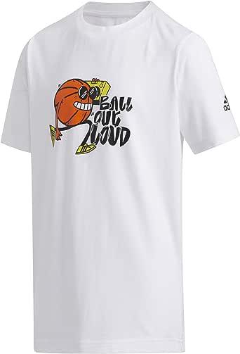 adidas T-shirt for Unisex Size L - White