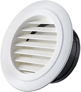 Air Vent Outlet Grille Wall Round Ventilation Cover Corner Air Diverter Decorative Grille Vent Return Register Easy Air Flow Fall Theme Cover For Walls and Ceilings , 75mm Mount Installation diameter