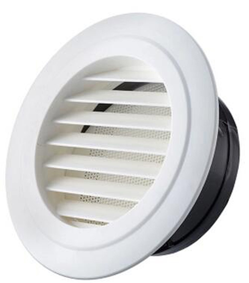 Air Vent Outlet Grille Wall Round Ventilation Cover Corner Air Diverter  Decorative Grille Vent Return Register Easy Air Flow Fall Theme Cover For