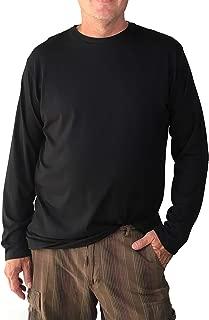 product image for The Lorenzo Long Sleeve - Men's Crew Neck X-Long Tee Shirt