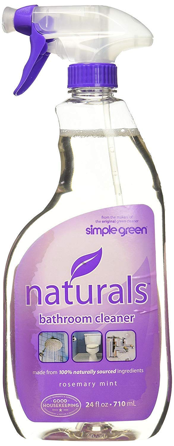 Simple Green 3110000612303 Naturals Bathroom Cleaner, 24 Oz by SIMPLE GREEN