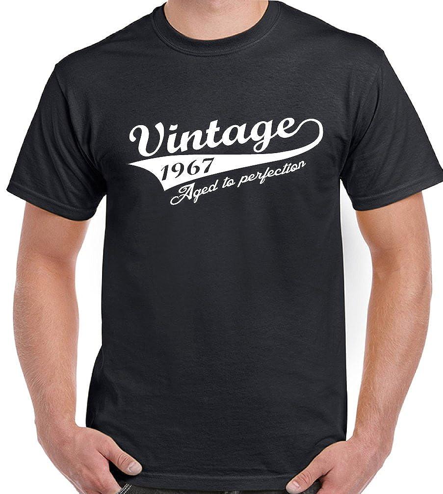 Vintage 1967 para hombre 50th cumpleaños T-Shirt año a ...