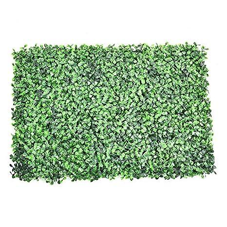 Edera Plastica Per Recinzioni.Jincome Artificiale Plastica Foglia Di Edera Recinzione Siepe 60 X