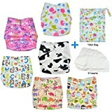 HappyCell Reusable Baby Pocket Cloth Diapers & Accessories...