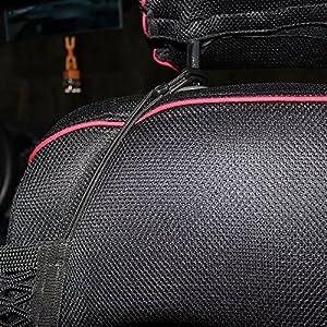 JessicaAlba 25CM30CM Universal Car Mesh Cargo Net Holder Storage Seat Bag Organizer