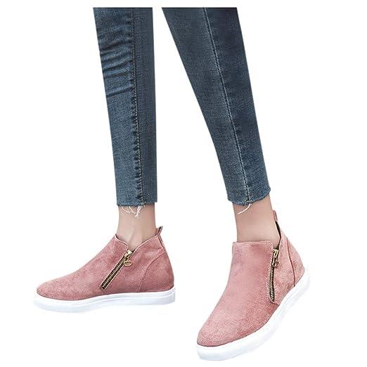 Women's Single Shoes Women Fashion Zipper Plus Size Booties