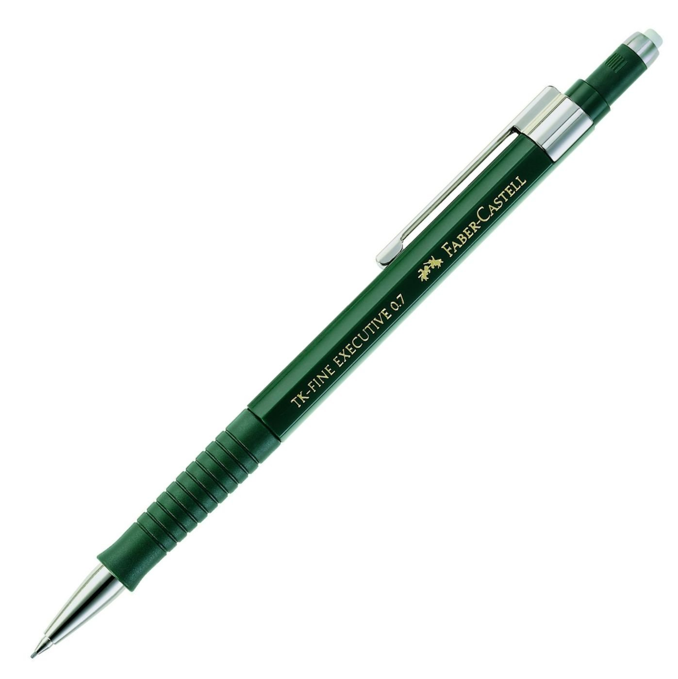 Faber-Castell 131700 Schaftfarbe: gr/ün Minenst/ärke: 0,7 mm Druckbleistift TK-FINE EXECUTIVE