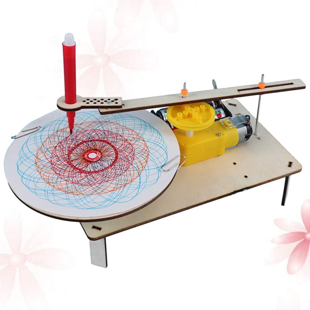 STOBOK Mini Plotter Eléctrico Física Física Circuito Emisor de Bolas Construcción de Rompecabezas Niños Educación Temprana Juguetes sin Batería: Amazon.es: Juguetes y juegos