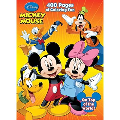Disney Mickey Mouse: 400 Pages of Coloring Fun: Dalmatian Press: Toys & Games