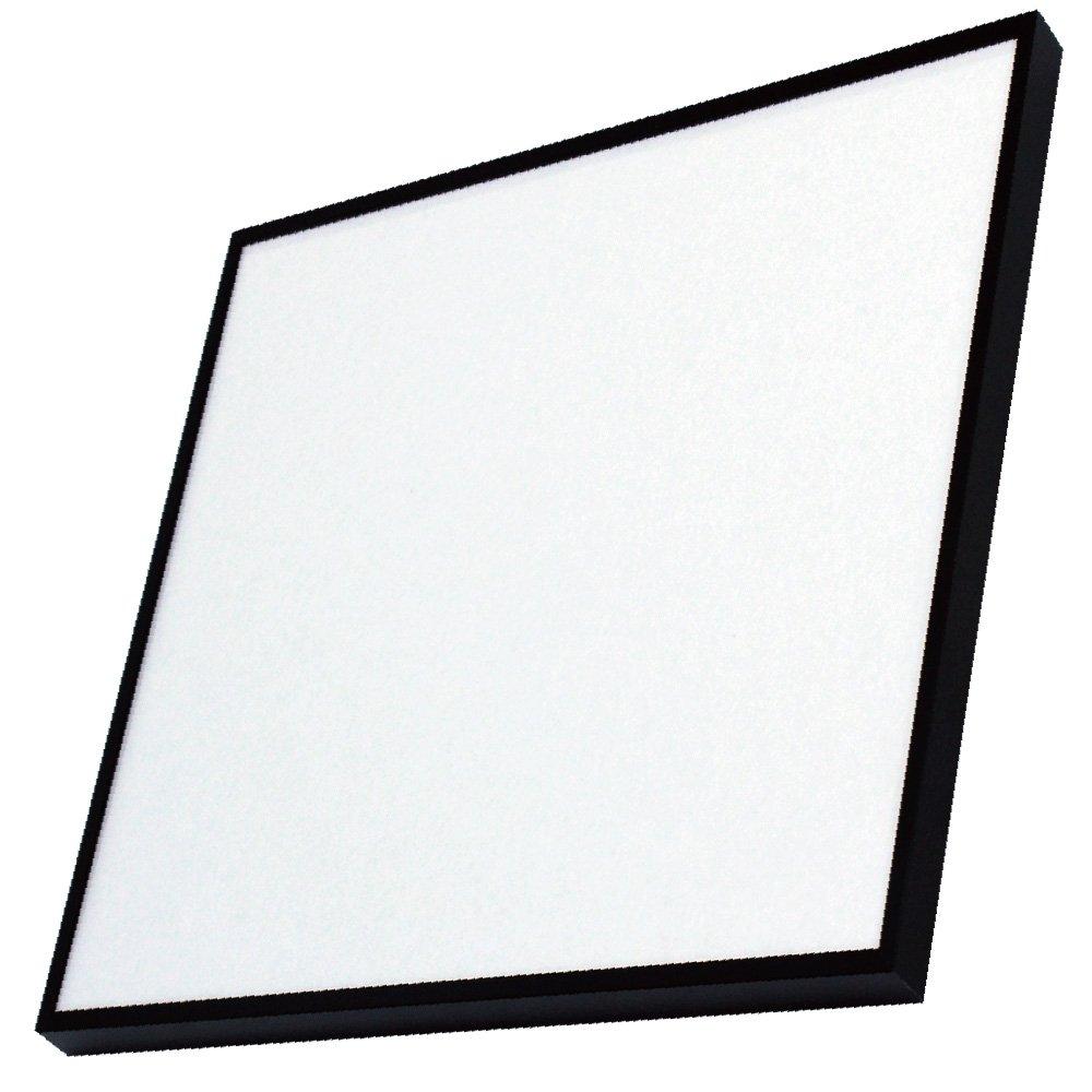 アルナ デッサン 正方形 水彩 アルミ 額縁 T25 ブラック 2366 350×350mm B01BBLVZ7S 350×350mm|ブラック ブラック 350×350mm