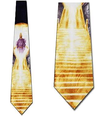 WILHJGH Lazos de la fe Corbatas cristianas Corbata de Jesús ...
