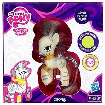 Zebra My Zecora Little Noir Dans Le Edition Brille Collector Pony Poney 2YeEI9WDH