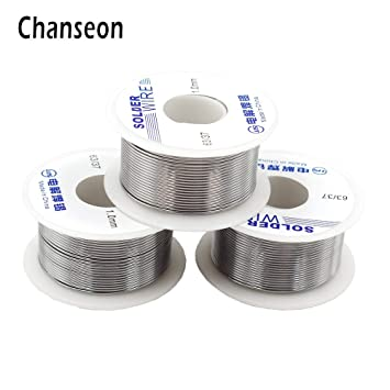 100g//roll Soldering Tin Wire Lead Solder Wire Flux Reel Line Welding Wires UK
