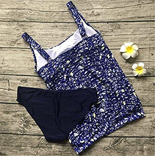 Bagno Da Costume Bagno Vestito Imbottito Bikini Tribale Beachwear A Fascia Del Di Liwell Del Reggiseno Donne Stabilito Bagno Blueblumen Impostato Bikini Del Del Spiaggia Costumi Da Bikini Monokini 46qWzZO