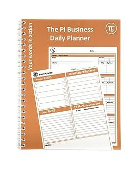 Pi A4 Agenda journalier et organiseur de notes de réunion ...