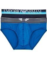 Emporio Armani Men's Color Play Brief, 2-Pack