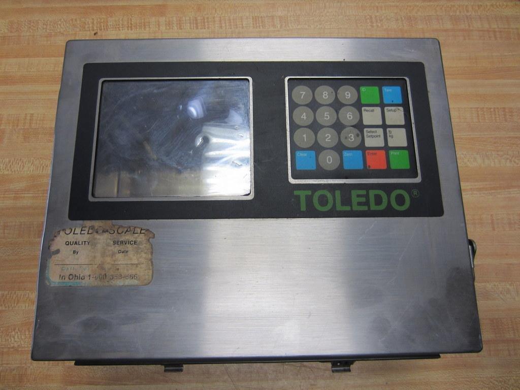 Toledo Scale 8142 Operator Panel With Keypad Reliance RAM No