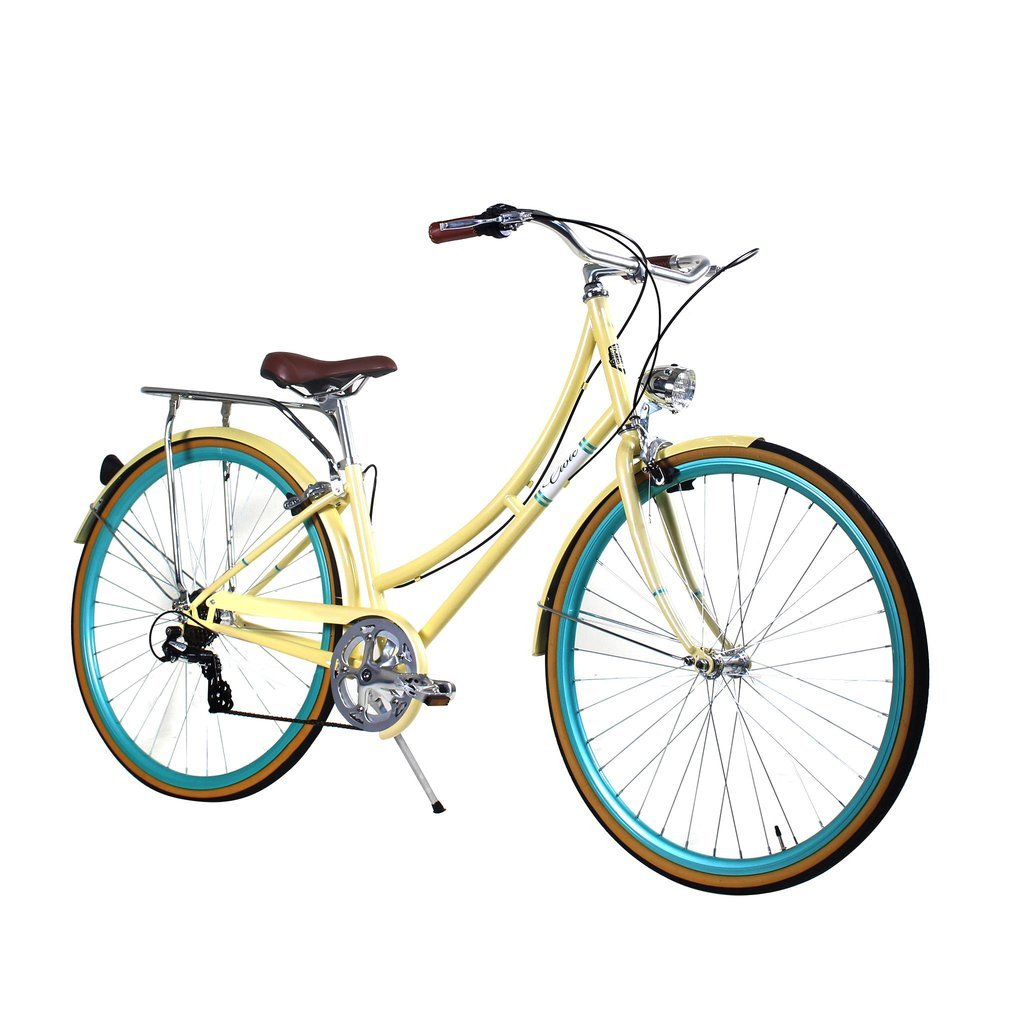Zycle Fix 44 cmバイク7速度ギアレディースシビックシリーズ自転車 – 夏 B01NCWWXYD