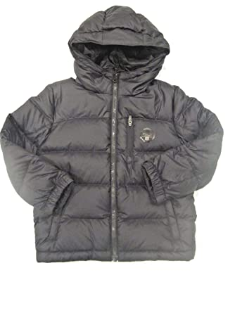 d1ccdddf1 Ralph Lauren Polo Boys Elmwood Down Filled Hooded Coat Jacket Parka Size 5