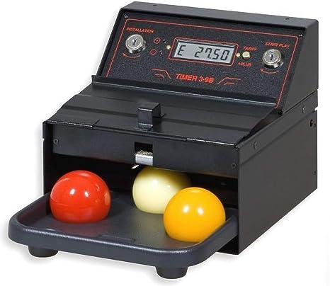 Mesa de billar-Timer 3 B, sistema de facturación en tiempo para carambol: Amazon.es: Deportes y aire libre