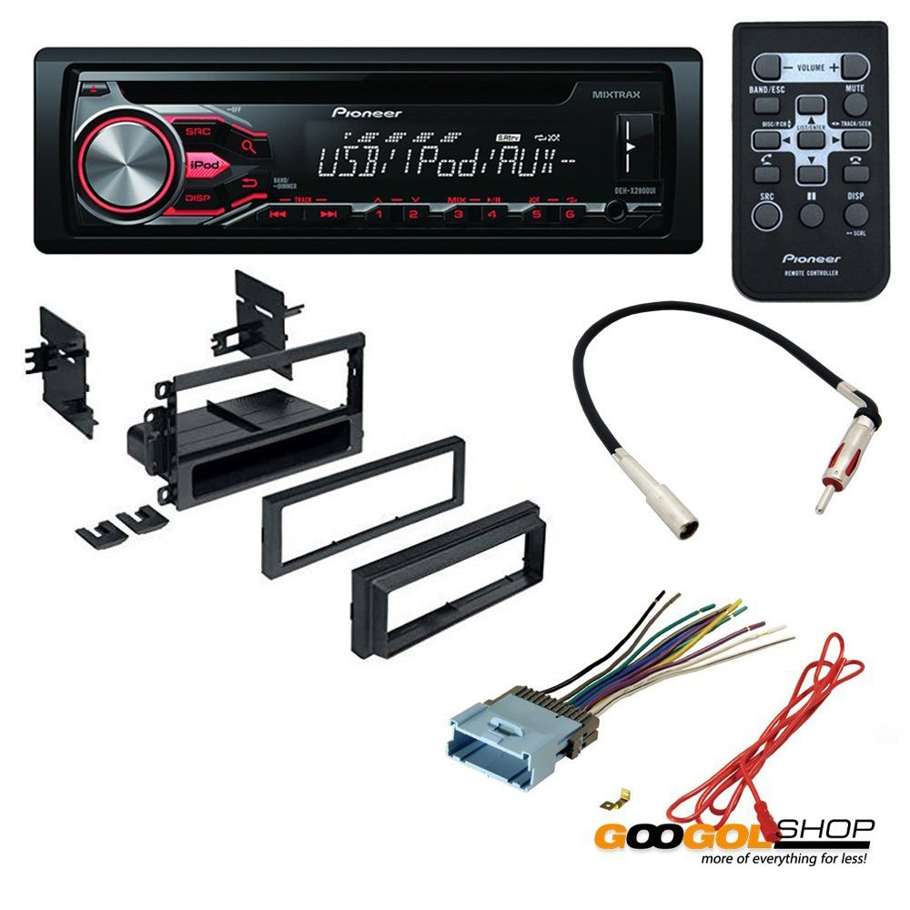 61J6tzhTN3L._SL1000_ amazon com car cd stereo receiver dash install mounting kit wire Wire Harness Assembly at gsmx.co
