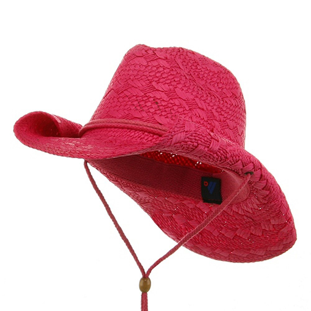 MG Ladies Toyo Cowboy Hat - Fuchsia