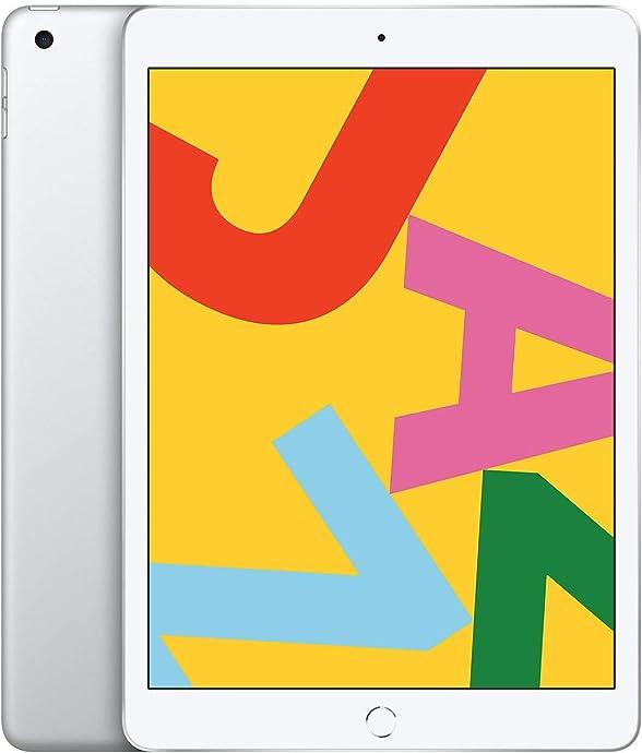 Apple iPad 平板电脑 最新款10.2英寸(128G WLAN版/Retina显示屏)7.7折$329.99 两色可选 海淘转运到手约¥2426
