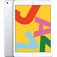 $303 » New Apple iPad (10.2-Inch, Wi-Fi, 128GB) - Silver (Latest Model)