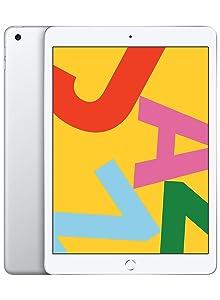 New Apple iPad (10.2-Inch, Wi-Fi, 128GB) - Silver (Latest Model)