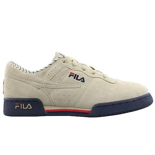 9e2ac9979a11 Fila Kids Original Fitness Low Pinstr Gradeschool Shoes - 6.5Y ...