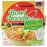 Nongshim Kimchi Bowl Noodle Soup, 86-Gram
