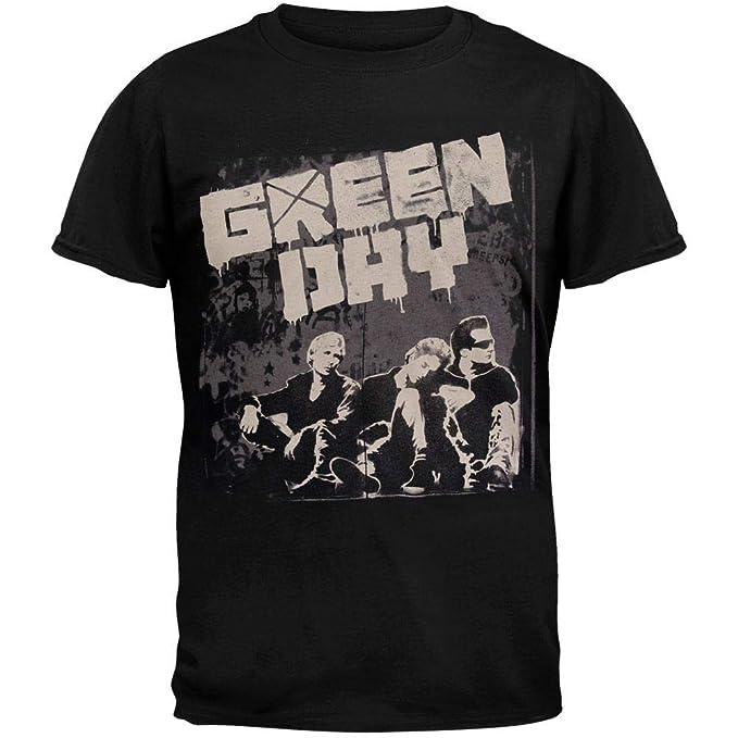 Amazon.com  Green Day - Grey Wall 2010 Tour T-Shirt  Clothing 0248ab686d