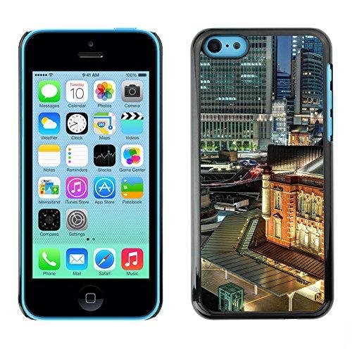 Premio Sottile Slim Cassa Custodia Case Cover Shell // F00016683 ville Nuit // Apple iPhone 5C