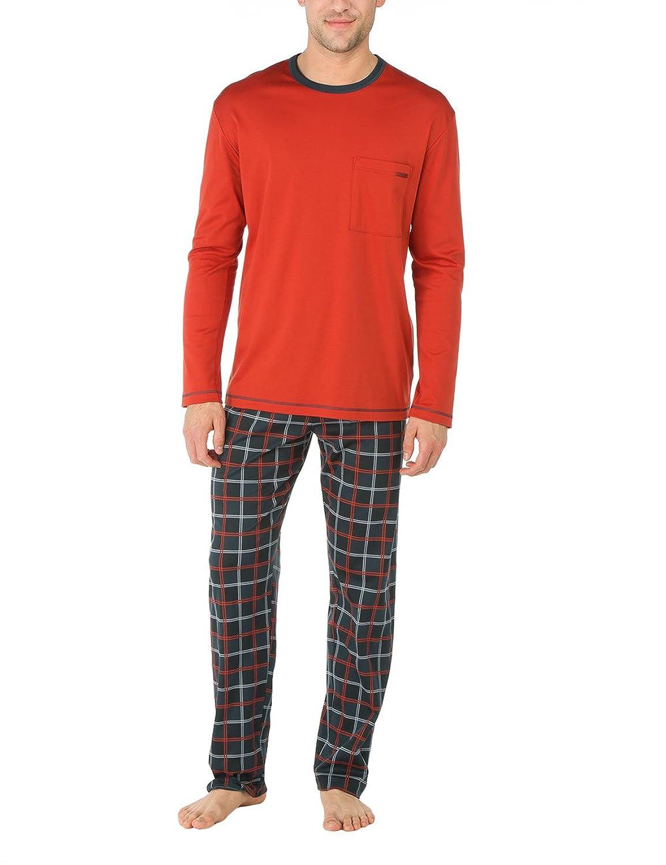 Calida Herren Zweiteiliger Schlafanzug Pyjama Chelsea