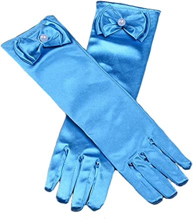kids Special Occasion Gloves Amazon.com: Kids Stretch Satin Long Finger Dress Gloves for Girl Children  Party Special Occasion Evening Prom Wedding GV21 Blue: Clothing