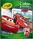 Crayola Cars 3 Color & Sticker Book