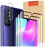 [2-Pack] PULEN for Xiaomi Mi Note 10 lite Screen Protector,HD Clear Scratch Resistant Bubble Free Anti-Fingerprints 9H…