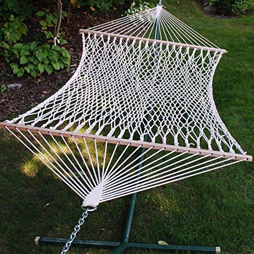 Algoma 11' Fabric Hammock (Algoma 11 ft. Cotton Rope Hammock)