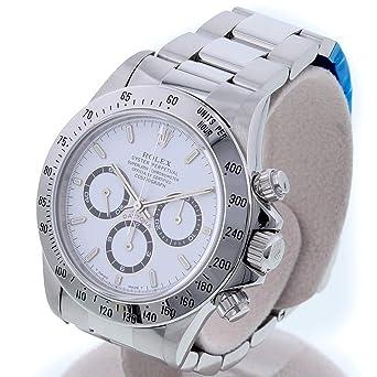 sale retailer 61315 a1c76 Amazon   [ロレックス]ROLEX 腕時計 デイトナ 16520 T版 白文字 ...