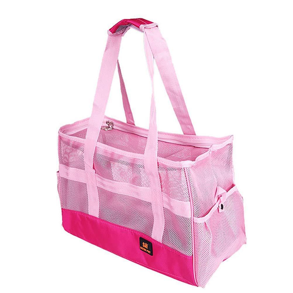 Fanshional Pet Travel Carrier Dog Animal Bags Portable Breathable Cat Bag Travel Mesh