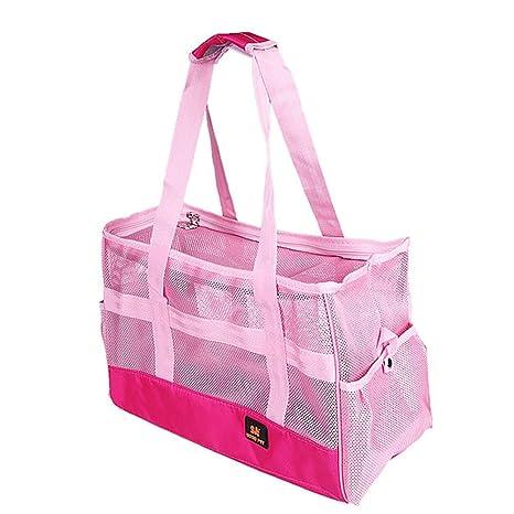LuxTai Fanshional Pet Travel Carrier Dog Animal Bags Transpirable ...