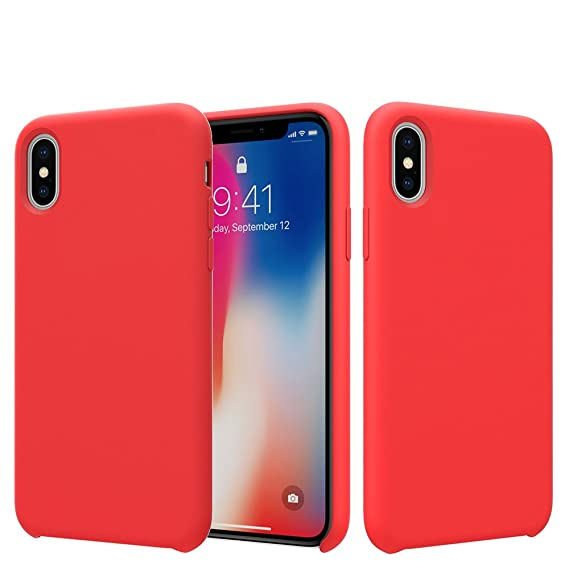 rubber iphone xs case